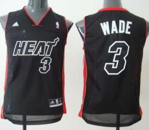 Canotte Bambini Wade,Miami Heats Nero2
