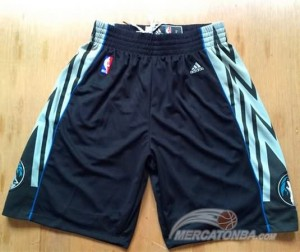 Pantaloni Minnesota Timberwolves Nero