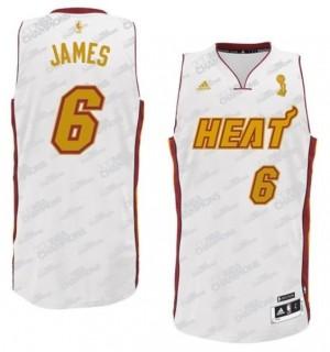 Canotte Rivoluzione 30 James,Miami Heats Bianco2