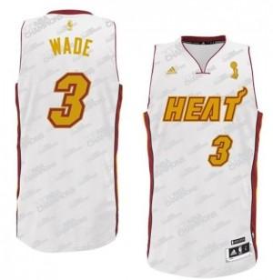 Canotte Rivoluzione 30 Wade,Miami Heats Bianco2