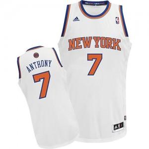 Canotte Rivoluzione 30 Anthony,New York Knicks Bianco