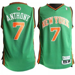 Canotte Anthony,New York Knicks Verde