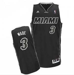 Canotte Rivoluzione 30 Wade,Miami Heats Nero