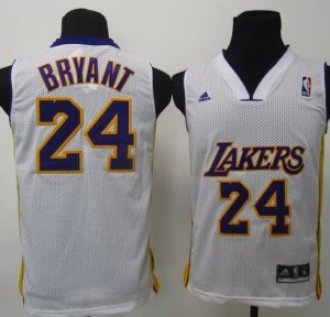 Canotte Bambini Bryant,Los Angeles Lakers Bianco