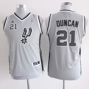 Canotte Bambini Duncan,San Antonio Spurs Grigio
