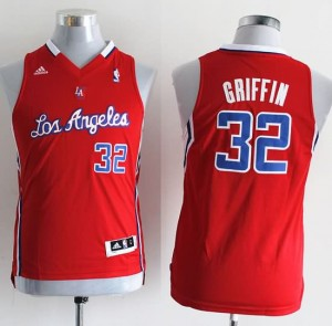 Canotte Bambini Griffi,Los Angeles Clippers Rosso