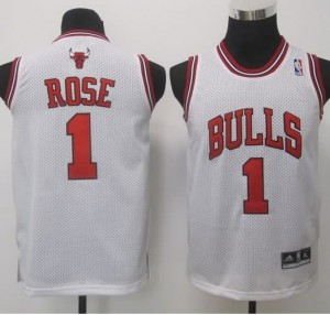 Canotte Bambini Rose,Chicago Bulls Bianco