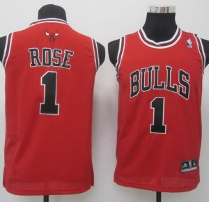 Canotte Bambini Rose,Chicago Bulls Rosso