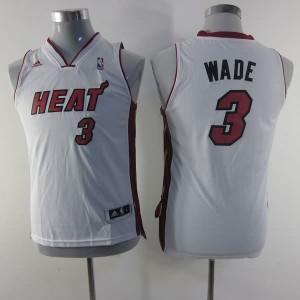 Canotte Bambini Wade,Miami Heats Bianco