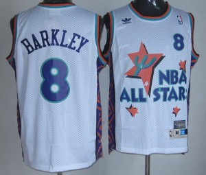 Canotte NBA Barkley,All Star 1995 Bianco