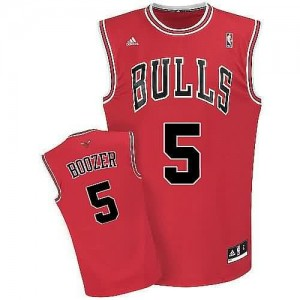 Canotte Boozer,Chicago Bulls Rosso
