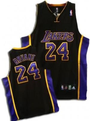 Canotte Rivoluzione 30 Bryant,Los Angeles Lakers Nero