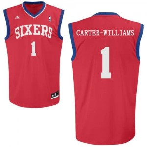 Canotte Carter Williams,Philadelphia 76ers Rosso