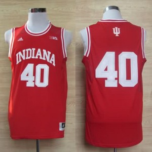 Canotte NCAA Cody Zeller,Indiana Rosso