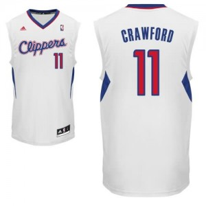 Canotte Rivoluzione 30 Crawford,Los Angeles Clippers Bianco