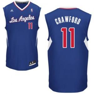 Canotte Rivoluzione 30 Crawford,Los Angeles Clippers Blu