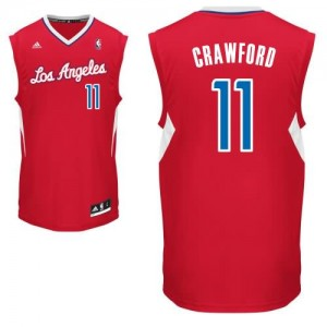 Canotte Rivoluzione 30 Crawford,Los Angeles Clippers Rosso