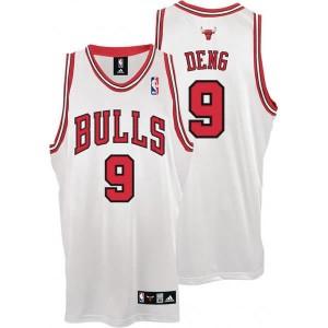 Canotte Deng,Chicago Bulls Bianco
