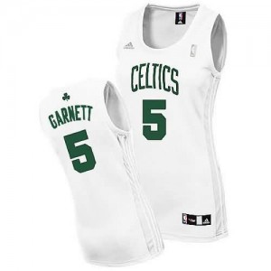 Canotte Donna Garnett,Boston Celtics Bianco