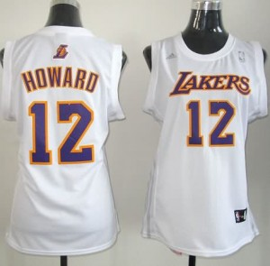 Canotte Donna Howard,Los Angeles Lakers Bianco