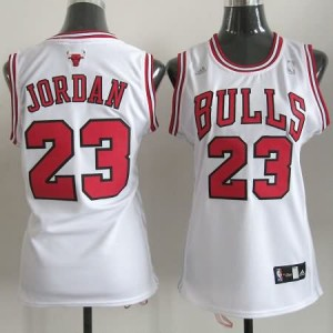 Canotte Donna Jordan,Chicago Bulls Bianco