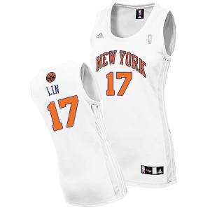 Canotte Donna Lin,New York Knicks Bianco