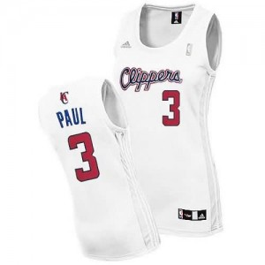 Canotte Donna Paul,Los Angeles Clippers Bianco