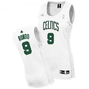 Canotte Donna Rondo,Boston Celtics Bianco