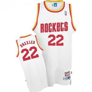 Canotte Drexler,Houston Rockets Bianco