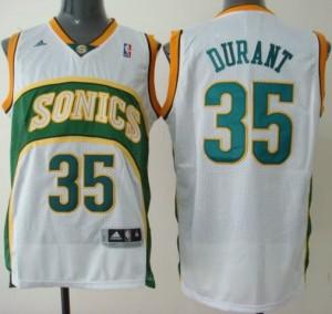 Canotte Durant,Seattle Sonics Bianco