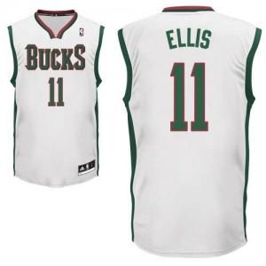 Canotte Rivoluzione 30 Ellis,Milwaukee Bucks Bianco