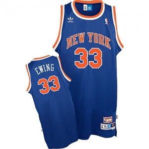 Canotte Ewing,New York Knicks Blu