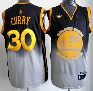 Canotte NBA Fadeaway Moda Curry Nero Bianco