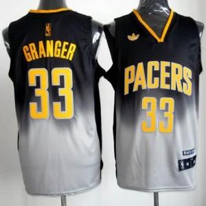 Canotte NBA Fadeaway Moda Granger Nero Bianco