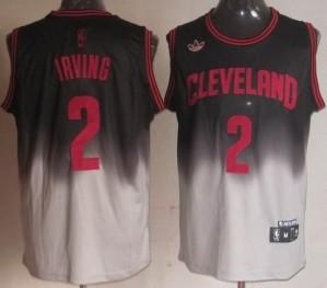Canotte NBA Fadeaway Moda Irving Nero Bianco