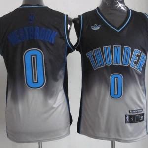 Canotte NBA Fadeaway Moda Westbrook Nero Bianco