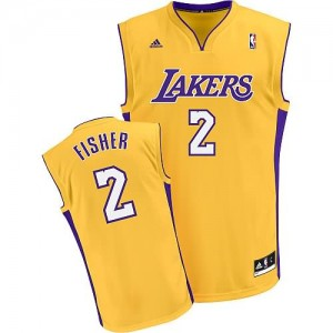 Canotte Fisher,Los Angeles Lakers Giallo