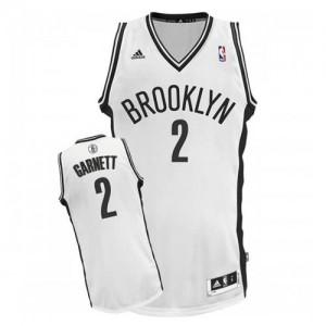 Canotte Rivoluzione 30 Garnett,Brooklyn Nets Bianco