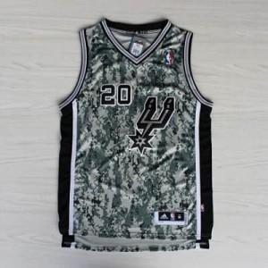 Canotte NBA Camouflage Ginobili Riv30