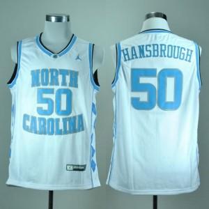 Canotte NCAA Hansbrough,North Carolina Bianco