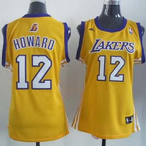 Canotte Donna Howard,Los Angeles Lakers Giallo