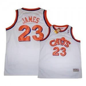 Canotte James,Cleveland Cavaliers Bianco2