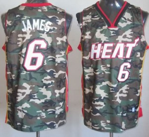 Canotte NBA Camouflage James Riv30
