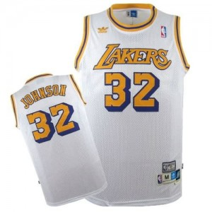 Canotte Johnson,Los Angeles Lakers Bianco