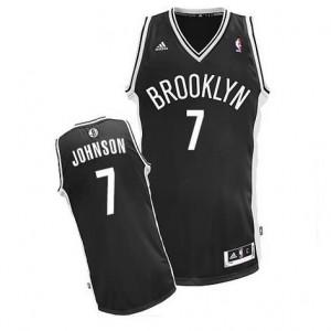 Canotte Rivoluzione 30 Johnson,Brooklyn Nets Nero