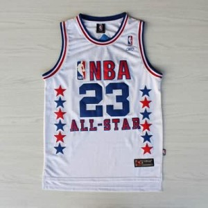 Canotte NBA Jordan,All Star 2003 Bianco