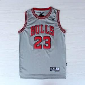 Canotte Rivoluzione 30 Jordan,Chicago Bulls Grigio