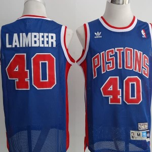 Canotte Laimbeer,Detroit Pistons Blu