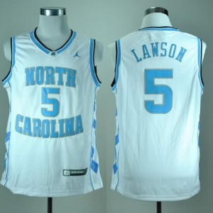 Canotte NCAA Lawson,North Carolina Bianco