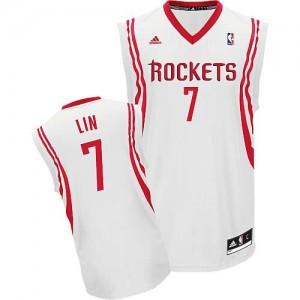 Canotte Rivoluzione 30 Lin,Houston Rockets Bianco